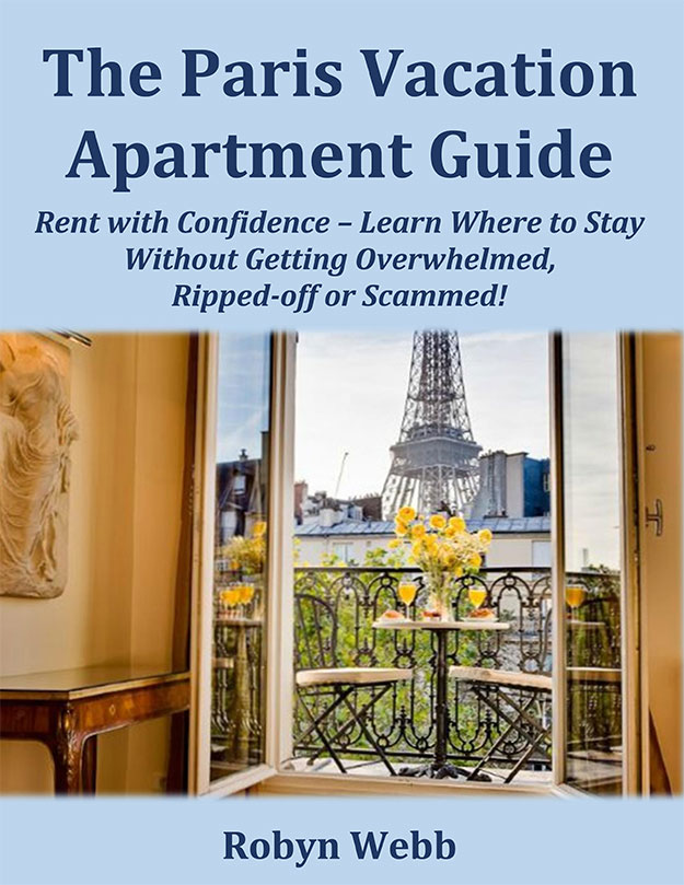 The Paris Vacation Apartment Guide Book Cover